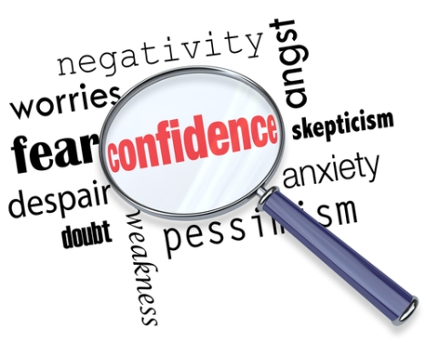 Fear, Negativity, Confidence Surrounded by Fear, Finding Confidence
