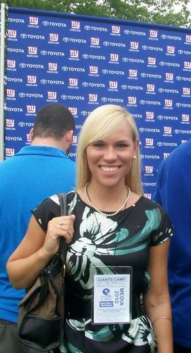 UAlbany NY Giants training camp press conference media New York Giants 2010 NYG