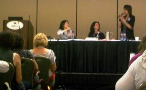 BlogHer 2010 Panel Session Blogging Layout